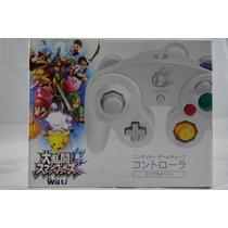 Control Blanco Gamecube Controller Nintendo Super Smash Bros