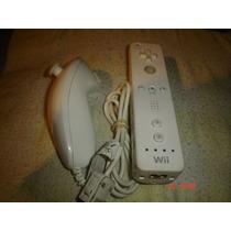 Nintendo Wii-wii Remote + Nunchuk + Volante Originales
