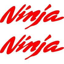 Jgo De 2 Calcomanias Para Tu Kawasaki Ninja