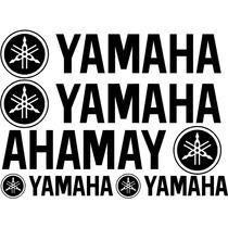 Jgo De 5 Calcomanias Para Tu Yamaha