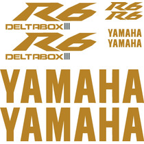 Stickers Para Yamaha R6 Gold Edition