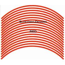 Cintas Para Rines Rojo Reflejante