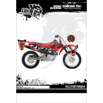 Kit De Calcas Graficos Honda Xr 110