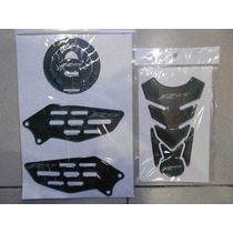 Kit Protector Tanque, Tapon Y Posapies Yamaha R15
