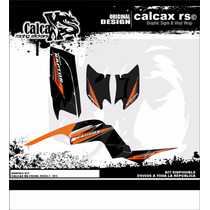 Kit De Calcas Para Yamaha Raptor 660 Semi
