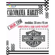 Calcomania Harley Para Motos