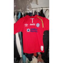Jersey Veracruz Cruz Azul Rojo 100% Original