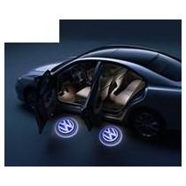 Luz De Cortesia Para Puerta De Auto, Varios Logos Wv Jeep