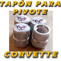 Tapon Pivote De Llanta Para Chevrolet Corvette