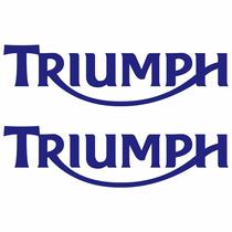 Sticker Motos - Calcomania - Vinil - Logo Triumph