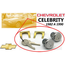 82-90 Chevrolet Celebrity Chapas Puertas Llaves Color Negro