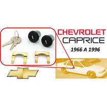 66-96 Chevrolet Caprice Chapas Puertas Llaves Color Negro