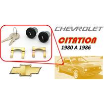 80-86 Chevrolet Citation Chapas Puertas Llaves Color Negro