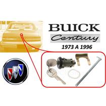 73-96 Buick Century Chapa Cajuela Con Llaves Color Negro