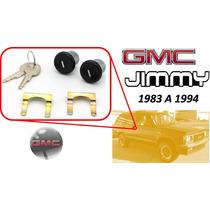 83-94 Gmc Jimmy Chapas Para Puertas Con Llaves Color Negro