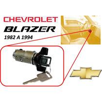 82-94 Chevrolet Blazer Switch Encendido Llaves Color Negro