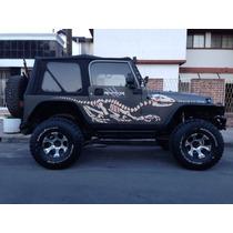 Toldo Suave Para Jeep Wrangler Nuevos Bestop Y Accesorios