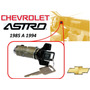 85-94 Chevrolet Astro Switch Encendido Llaves Color Negro