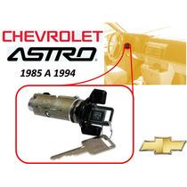 85-94 Chevrolet Astro Switch Encendido Llaves Color Negro