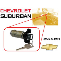 79-91 Chevrolet Suburban Switch De Encendido Llaves Negro