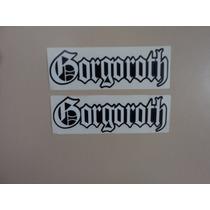 Set De 1 Calcamonia1 Sticker De Gorgoroth