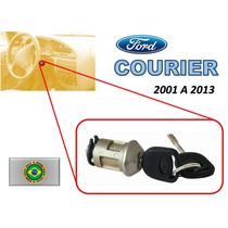 01-13 Ford Courier Switch De Encendido Con Llaves Brasil