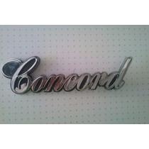 Emblema Original De Rambler American Concord