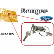 84-92 Ford Ranger Switch De Encendido Con Llaves Cromado