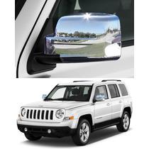 Cubre Espejos Cromados Jeep Patriot 2007 - 2014, Accesorios