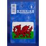 Welsh Parachoques - Smal Dragón Pequeño Bandera Rectangula