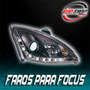 Faros Para Focus Con Tira De Led Mod. 2000 - 2005