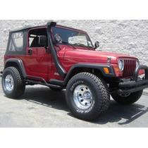 Snoorkel Universal Ó Jeep (96-06) Fibra De Vidrio