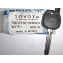 Llave,hueca,transponder,chip,ford,toyota,vw,chevrolet,
