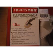 Pulidora Para Automovil Craftsman Nueva