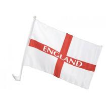 Bandera De Inglaterra - St George Coche De Deportes De Fútb