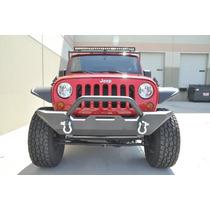 Parachoque, Defensa Porta Winch Off Road Jeep 2007-2015