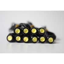 Drl Led Ojo De Aguila 18mm