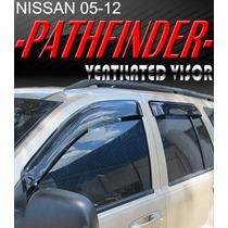Pathfinder Nissan Deflectores De Puertas 4 Piezas Ahumados