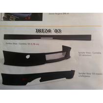 Faldon Delantero Para Seat Ibiza 03 Fibra De Vidrio