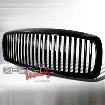 Parrilla Negra Vertical Dodge Ram 03 04 05 Srt Hemi Super Rt