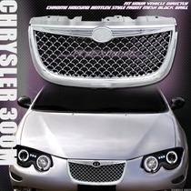 Parrilla 300m Tipo Bentley Cromada O Negra Au1