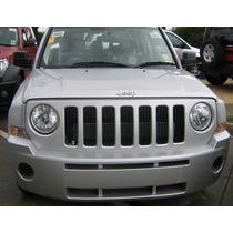 Parrilla Inserto Cromada Jeep Patriot 2007 2008 2009 2010