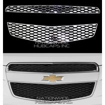 Chevrolet Equinox Inserto Cromado De Parrilla 2 Piezas