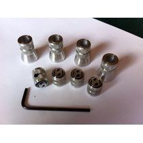 Juego 4 Cubre Valvulas Y 4 Tapones Valvula C/seg Logo Atos
