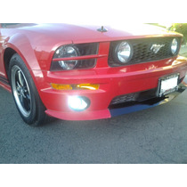 Toma De Aire Lip Spoiler Frontal Mustang 05_09