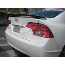 Civic Honda Spoiler Modelo G5 Con Stop De 35 Leds
