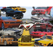 Mustang Spoilers Traseros Modernos Coleccion , Por Pieza C/u