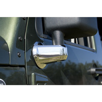 Wrangler Jeep Cover Cromo De Base De Espejo Importado Sp0
