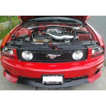 Mustang 05 Al 09 Par Tapas Radiador Par ,.toma De Emblema
