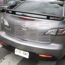Mazda 3 Aleron Estilo Rapido Y Furioso , Para Que Vea Rudo